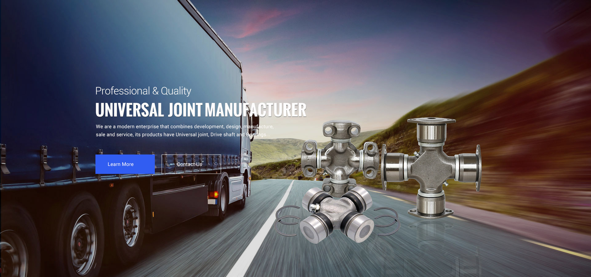 UNIVERSAL JOINT MANUFACTURE